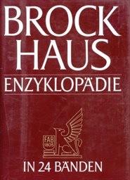 Brockhaus Enzyklopädie                         (Bd. 20,)