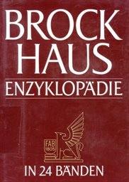 Brockhaus Enzyklopädie                         (Bd. 23)