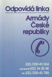 Odpovídá linka Armády České republiky