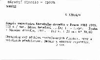Soupis repertoáru Národního divadla v Praze 1983-1993                         (Díl 4)