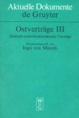 Ostverträge                         ([Bd.] 3,)