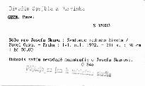 Sólo pro Josefa Skupu