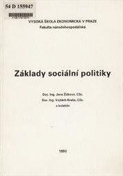 Základy sociální politiky