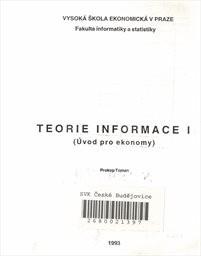 Teorie informace                         ([Část] 1)
