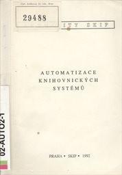 Automatizace knihovnických systémů