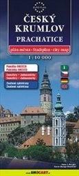 Český Krumlov - plán města