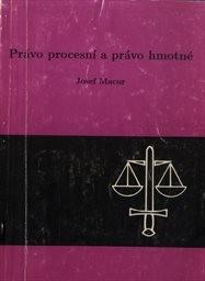 Právo procesní a právo hmotné