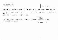 Daňové přiznání za rok 1993 k dani z příjmů právnických osob