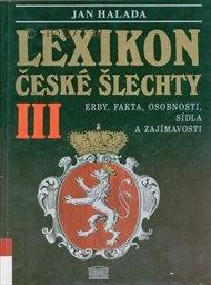 Lexikon české šlechty                         ([Díl] 3)