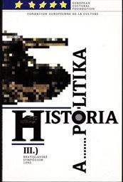 História a politika