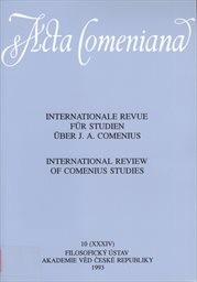 Acta Comeniana                         (Bd. 10)