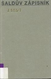 Šaldův zápisník                         (Sv. 7)