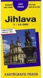 Jihlava - plán města