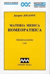 Materia medica homeopathica                         (1.díl)