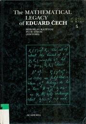 The Mathematical Legacy of Eduard Čech