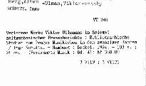 Verlorene Werke Viktor Ullmanns im Spiegel zeitgenössischer Presseberichte
