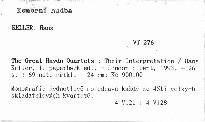 The Great Haydn Quartets