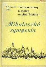 Politické strany a spolky na jižní Moravě