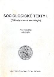 Sociologické texty                         ([Díl] 1)