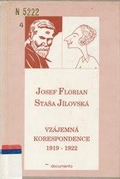 Vzájemná korespondence 1919-1922