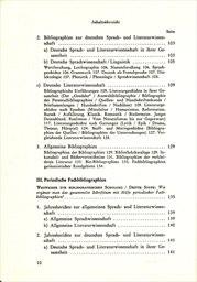 Bücherkunde für Germanisten