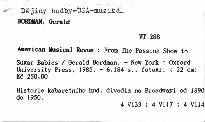 American Musical Revue