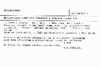 Miscellanea oddělení rukopisů a starých tisků 7/1