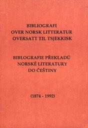 Bibliografi over norsk litteratur oversatt til tsjekkisk