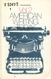 American Writing Today                         ([Vol.] 2)