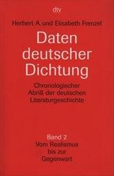Daten deutscher Dichtung                         (Bd. 2)