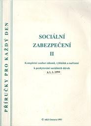 Sociální zabezpečení                         (2. díl)