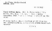 Česká Orffova škola                         ([Díl] 2)