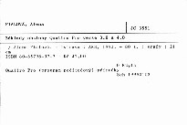 Základy obsluhy Quattro Pro verse 3.0 a 4.0
