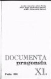 Documenta Pragensia                         ([Č.] 11, 1993,)