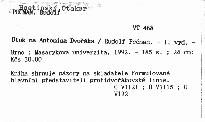 Útok na Antonína Dvořáka