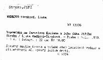 Vzpomínka na Jaroslava Kociana a jeho žáka Jiřího Straku