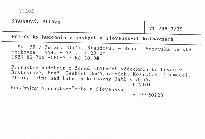 Přírůstky hudebnin v českých a slovenských knihovnách                         (sv. 39)