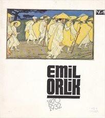 Malíř a grafik Emil Orlik