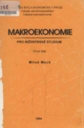 Makroekonomie pro inženýrské studium                         (1. část)