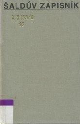 Šaldův zápisník                         ([Sv.] 9)