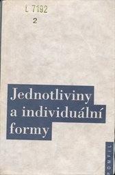 Jednotliviny a individuální formy