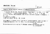 Soupis botanických sbírek v Československu