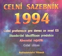 Celní sazebník 1994