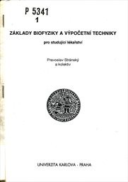 Základy biofyziky a výpočetní techniky