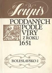 Soupis poddaných podle víry z roku 1651                         ([Díl] 1)