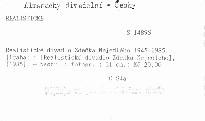 Realistické divadlo Zdeňka Nejedlého 1945-1985