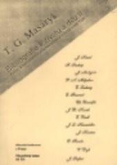 T. G. Masaryk. Bibliografie k životu a dílu                         ([Díl] 2,)