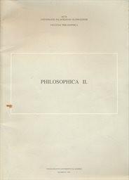 Philosophica                         (2)