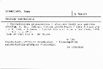 Základy psychologie                         (1. díl,)
