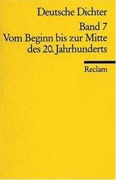 Deutsche Dichter                         (Bd. 7)